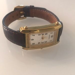 Vintage Fossil rectangle watch!